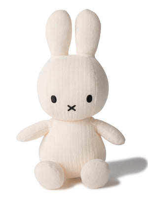 Miffy Muslin Plush Toy - Cream