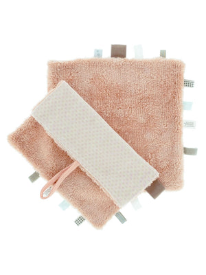Organic Cotton Sweet Dreaming Fluffy Comforter with tags - Dusty Pink