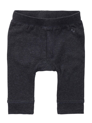 Charcoal Relaxed Fit Jersey Trousers - Organic Cotton  (4-7lb)