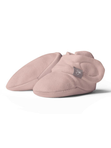 Stay-on Premature Baby Boots, Dusty Pink (3lb-6lb)