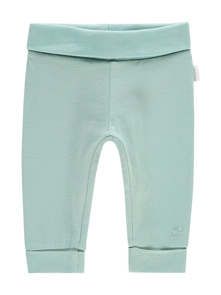 Grey Mint Jersey Trousers - Organic Cotton  (4-7lb)