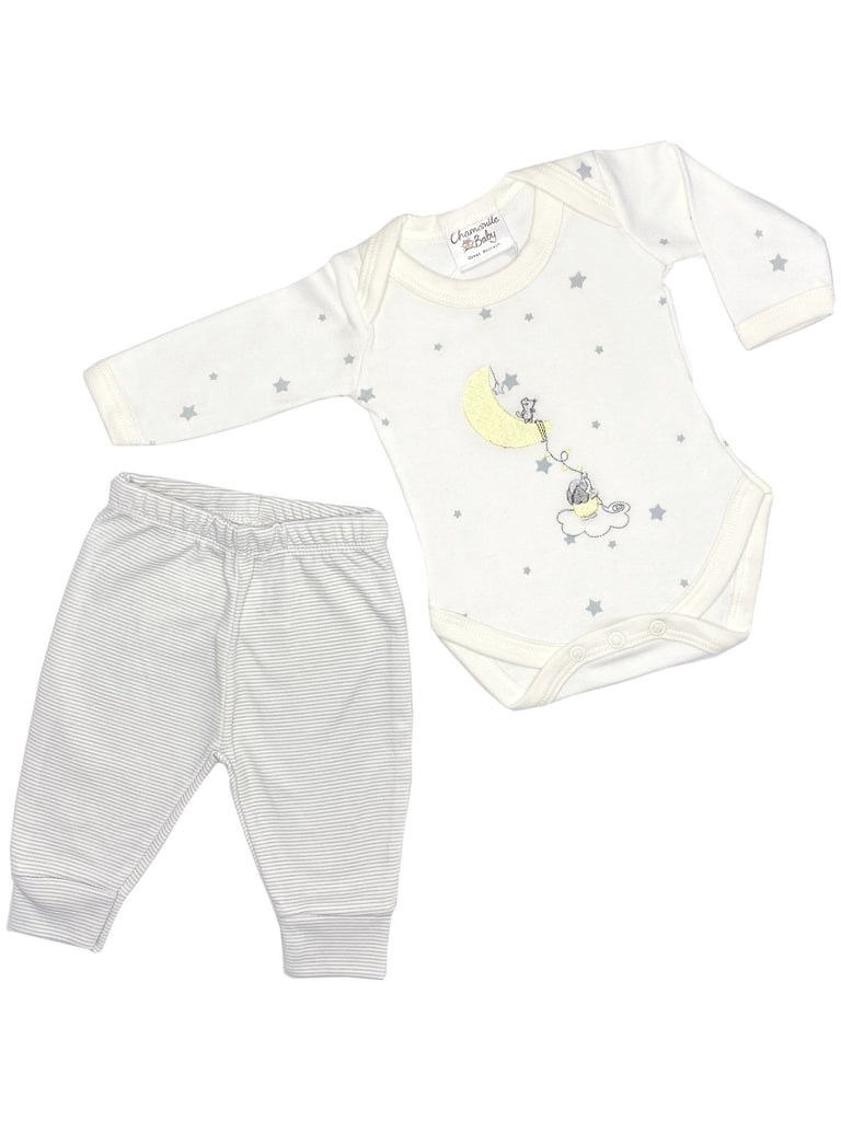 Starry Gift Set: Bodysuit & Trousers (Newborn & 0-3 months)