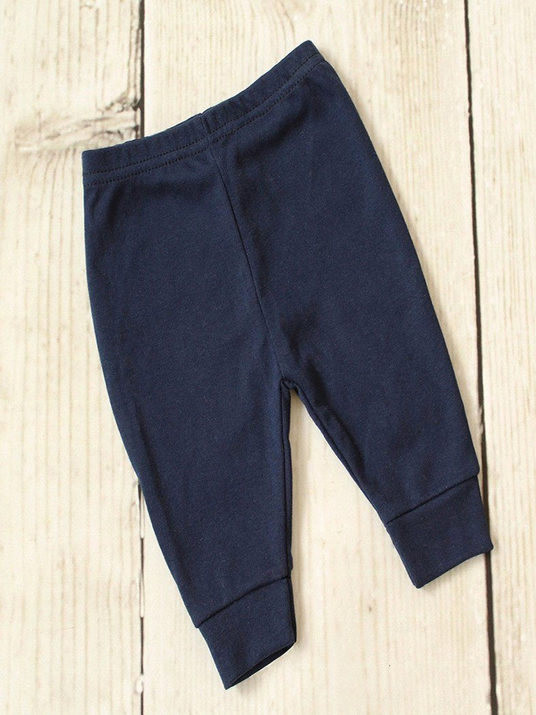 Trousers - Navy - Sleepsuits - Chamomile Baby - Little Mouse Baby Clothing & Gifts