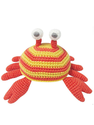 Crochet Stripy Crab - Gorgeous Little Rattle By Albetta