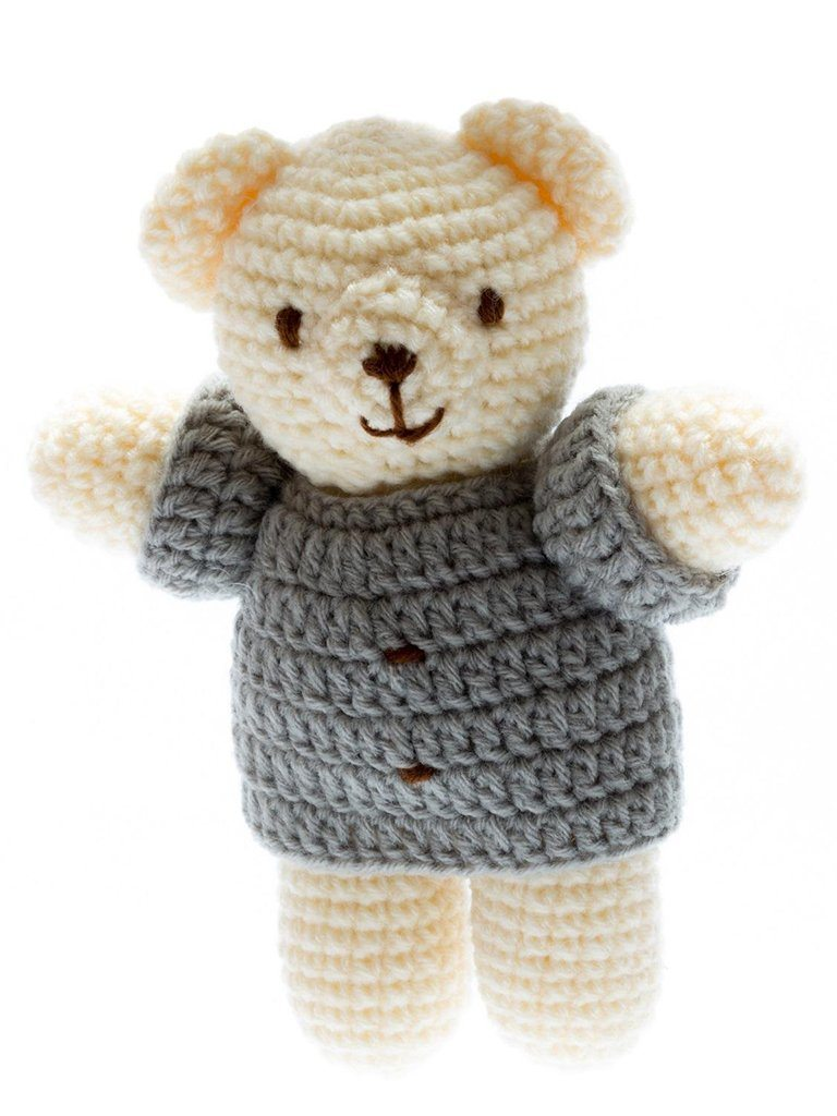 Little Crochet Ted: Fairtrade and Organic