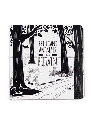 High Contrast Baby Book - British Animals