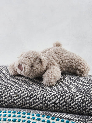 Albetta Fluffy Baby Bear Soft Toy