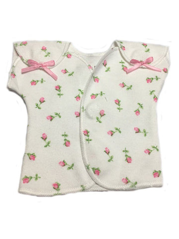 Little Rose Wrap Over Top (Premature Baby, 1-3lb & 3-5lb)