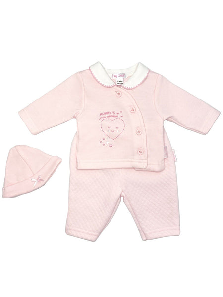 'Sweetheart' Pink Heart 3 Piece Set (3-5lb & 5-8lbs)