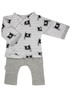Preemie Shirt & Trouser Set, Pirate, 1.5-3lb & 3-5lb