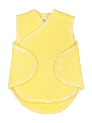 Premature Baby Incubator Vest - Yellow (1.5-3lb & 4-6lb) - Incubator Vest - Little Mouse Baby Clothing & Gifts