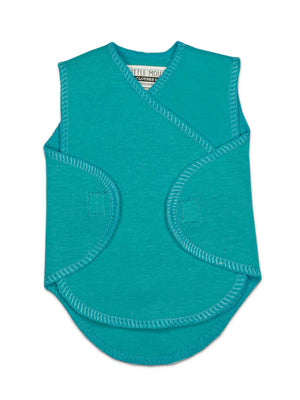 Turquoise Incubator Vest (1.5-3lb) - Incubator Vest - Little Mouse Baby Clothing & Gifts