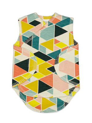 Multicolour Abstract Print Incubator Vest (1.5-3lb) - Incubator Vest - Little Mouse Baby Clothing & Gifts