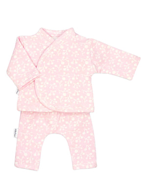 Preemie Shirt & Trouser Set, Pink Patterned, 1.5-3lb & 3-5lb