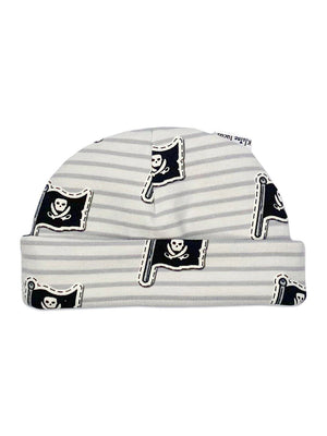 Pirate Print Premature Baby Hat, 1.5-3lb & 3-5lb