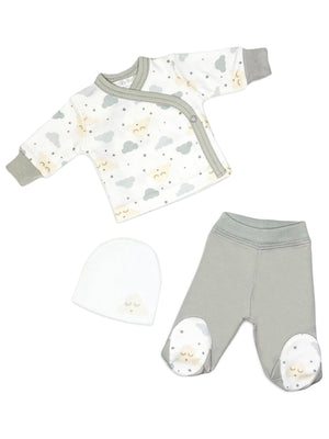 Cloud Wrap (Long Sleeved), Trousers & Hat Set (3lb-5lb)