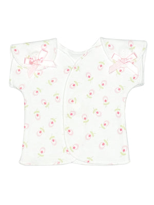 Dainty Floral Wrap Over Top ( 1-3lb & 3-5lb)