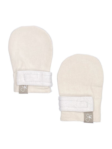 Prem Stay-On Scratch Mitts - Sand (3-6 lbs)