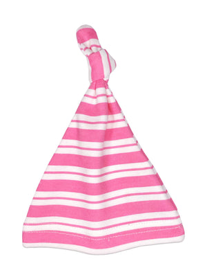 Pink Stripe Knotted Premature Baby Hat (1.5-3lb, 3-5lb & 4-7lb) - Hat - Little Mouse Baby Clothing & Gifts