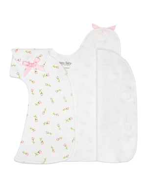 Little Rose Wrap Dress (Prem 1-3lbs & 3-5lb)