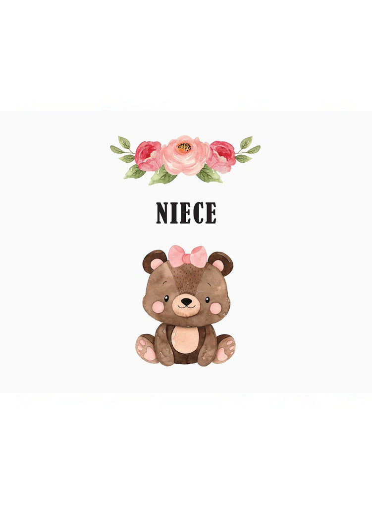 Niece - New Baby Card