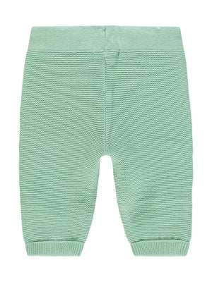 Mint Knitted Trousers - Organic Cotton  (4-7lb)
