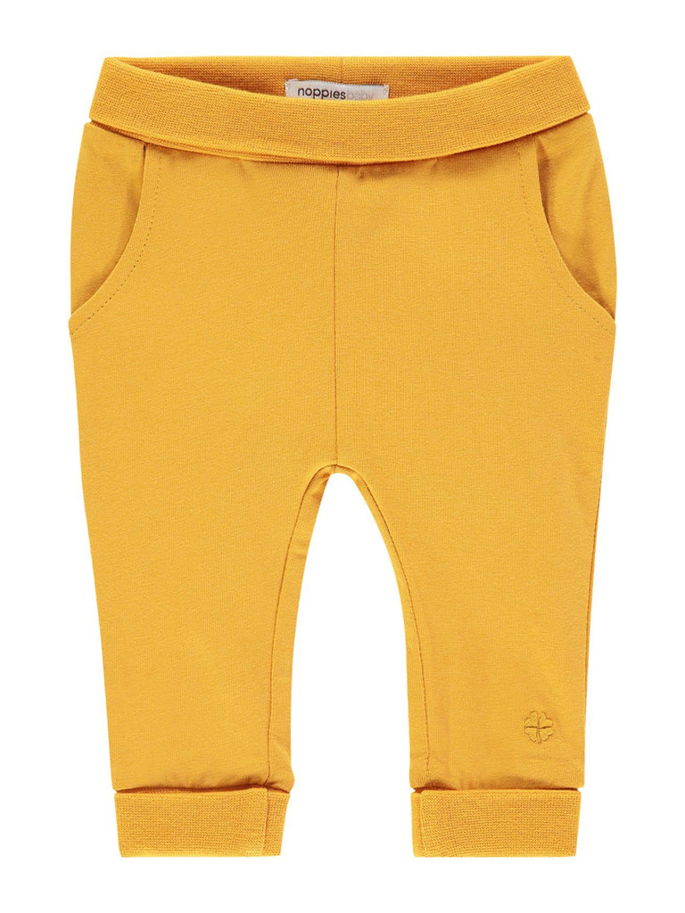 Soft Jersey Trousers - Mustard Yellow (Tiny Baby 4-7lb)