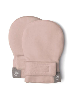 Prem Stay-On Scratch Mittens - Dusty Pink (3-6 lbs)