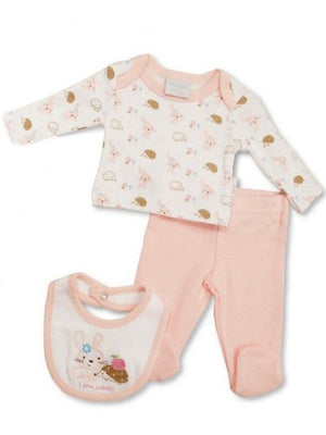 'I love Cuddles' Bunny & Hedgehog 3 piece set (3-5lb & 5-8lbs)