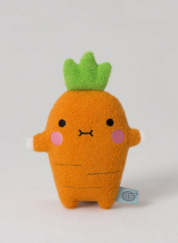 Ricecrunch Mini Plush Carrot Toy - toys - Noodoll - Little Mouse Baby Clothing & Gifts