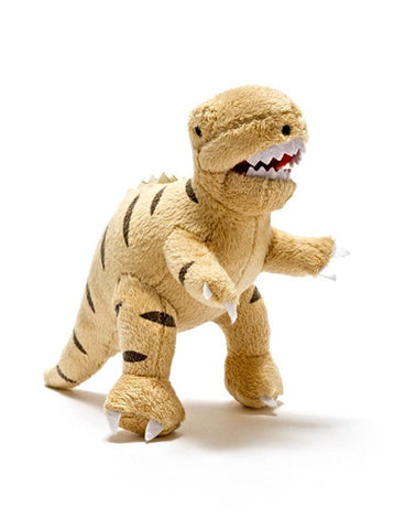 T-Rex Plush Rattle - toys - Best Years - Little Mouse Baby Clothing & Gifts