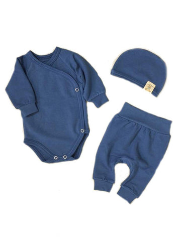 Mini Boo Bamboo Set, Noble Blue (3lb-5lb)