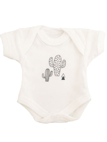 Trendy Cactus Print Baby Vest (4 Sizes)