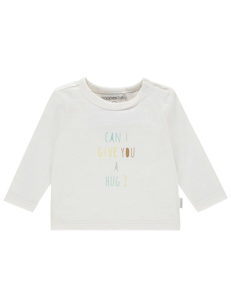 Organic Cotton 'Can I give you a hug' Slogan Top - Tiny Baby Size (4-7lb)