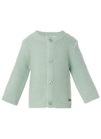 Knitted Cardigan - Mint - cardigans - Noppies - Little Mouse Baby Clothing & Gifts