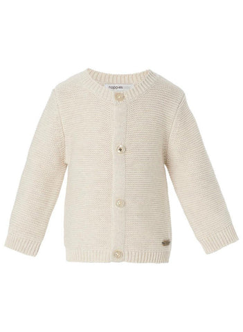 Knitted Cardigan - Oatmeal - cardigans - Noppies - Little Mouse Baby Clothing & Gifts