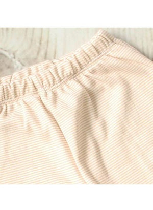 Newborn Baby Trousers - Beige Stripey