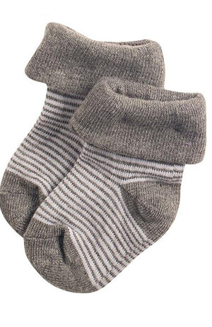 Socks 2 Pack - Charcoal Grey - Socks - Noppies - Little Mouse Baby Clothing & Gifts