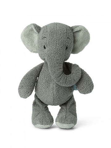 Grey Ebu the Elephant - lovely Crinkly Ears!