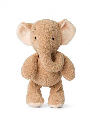 Peach Ebu the Elephant - lovely Crinkly Ears!