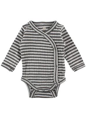 Grey Stripe Long Sleeve Vest (3-5lb)