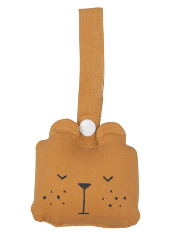 Fabelab Bear Rattle, Ochre