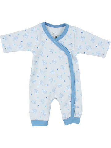 Organic Cotton Blue Bee Sleepsuit (1.5-3.5lb)