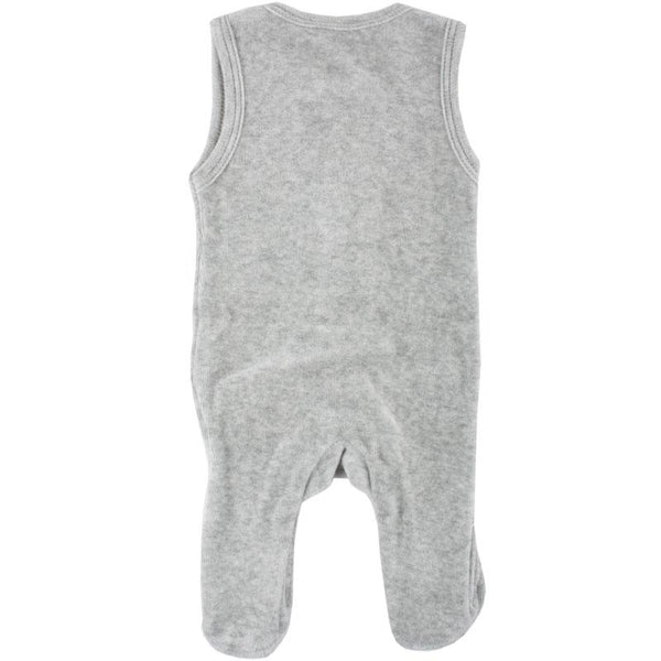 Super Soft Sleeveless Dungaree, Organic Cotton (1.5-3.5lbs)