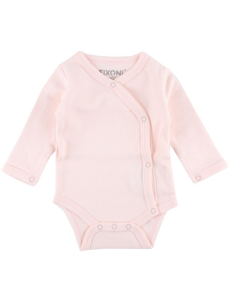 Organic Cotton Pink Long Sleeve Vest (1.5-3.5lb & 3-5lb)