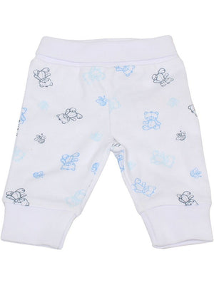Organic Cotton Blue Bee and Bear Trousers (1.5-3.5lb and 3-5lbs)