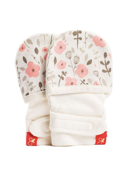 Stay On Scratch Mittens - Country Garden (0-3 Months)