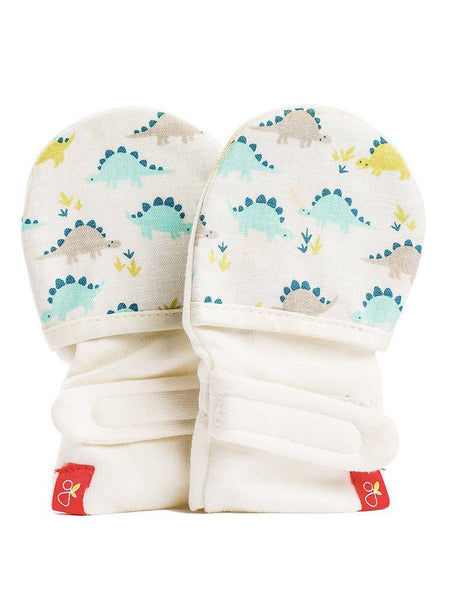 Stay On Scratch Mitts - Dino-Rawr Pack (0-3 Months)