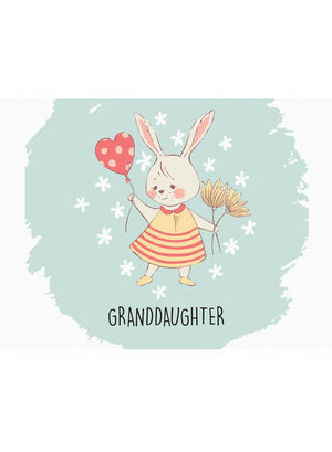 Granddaughter - New Baby Card - New baby card - Little Mouse Baby Clothing & Gifts