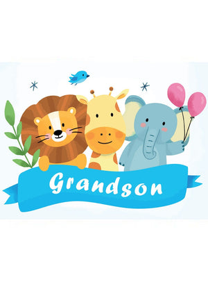 Grandson - New Baby Card - New baby card - Little Mouse Baby Clothing & Gifts
